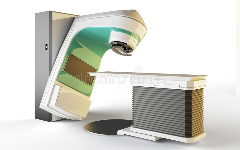 Download Linear Accelerator stock illustration. Image of diagnostic - 12748903