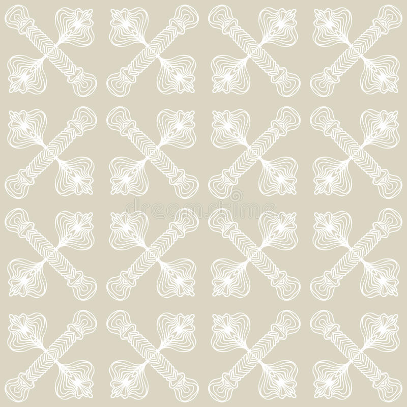 Linear art deco pattern with barely visible lines. Hand drawn linear simple and elegant tartan art deco pattern with barely visible grey-silver lines, website vector illustration