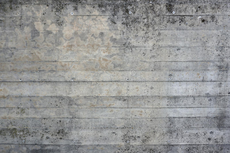 Linear concrete texture. Linear horizontal concrete texture and pattern stock photography