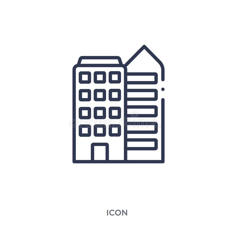 Linear icon from Construction outline collection. Thin line vector isolated on white background. trendy illustration. Icon stock illustration