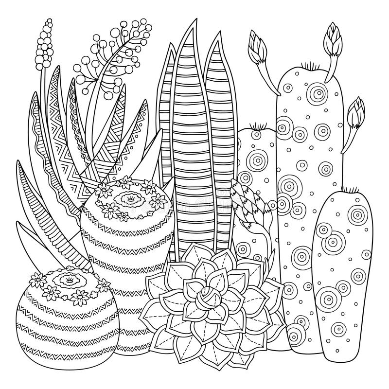 Printable Cactus Coloring Pages For Kids | Cool2bKids | Coloring ... | 800x800