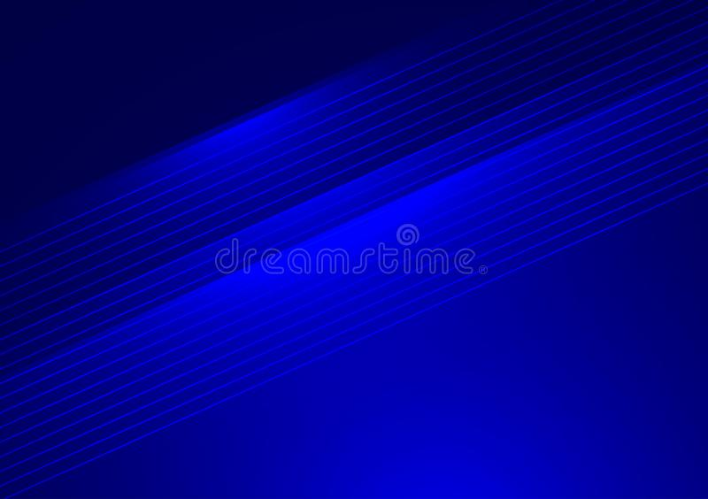 Linear lines running across blue background. For use with design royalty free stock photo