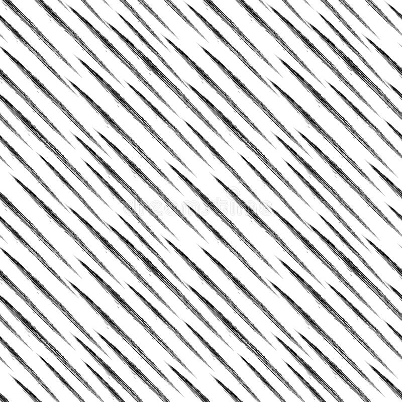 Linear monochrome geometric pattern. stock illustration