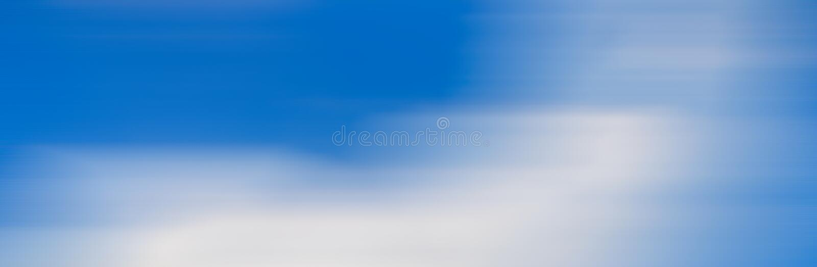 Motion blur effect of blue sky for background royalty free stock photos