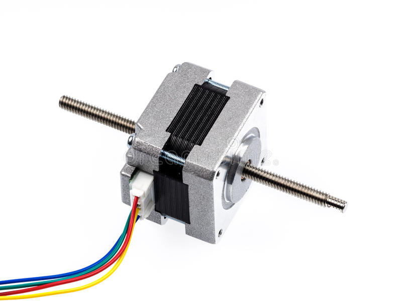 Linear stepper motor actuator. A linear stepper motor actuator creates translational motion with the simple operation of a stepper motor resulting in a cost stock photos