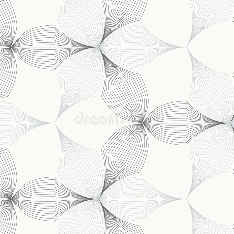 Linear vector pattern, repeating abstract flower leaves, gray line of leaf or flower, floral. graphic clean design for fabric,. Event, wallpaper etc. pattern is stock illustration
