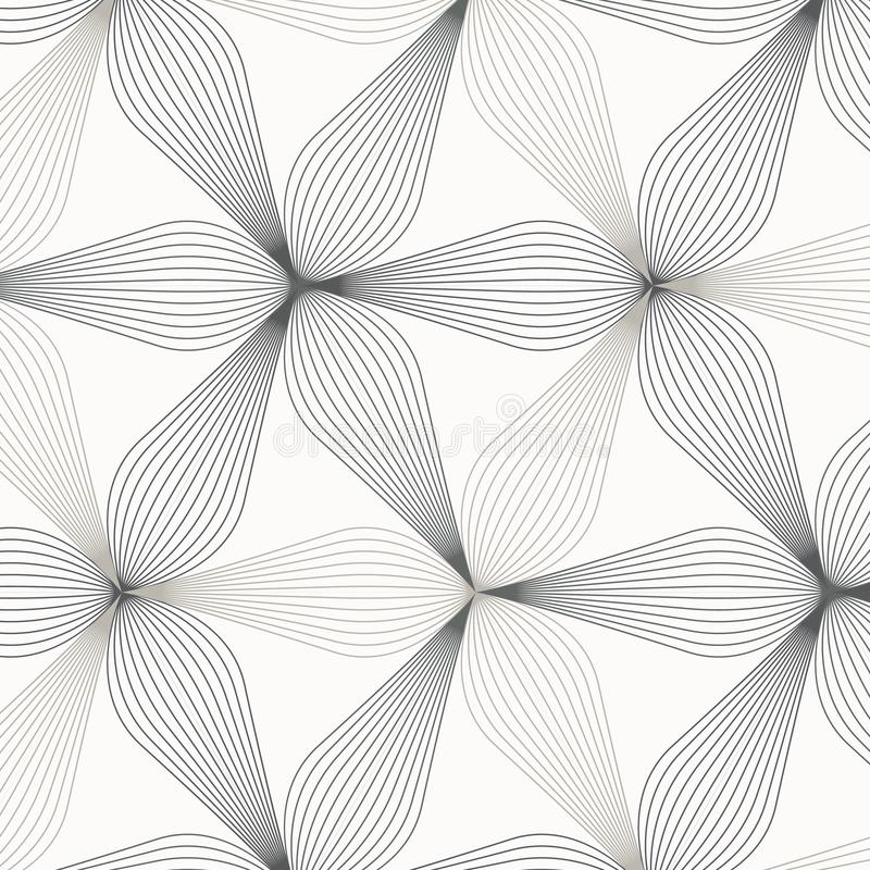 Linear vector pattern, repeating abstract flower leaves, gray line of leaf or flower, floral. graphic clean design for fabric. Event, wallpaper etc. pattern is stock illustration