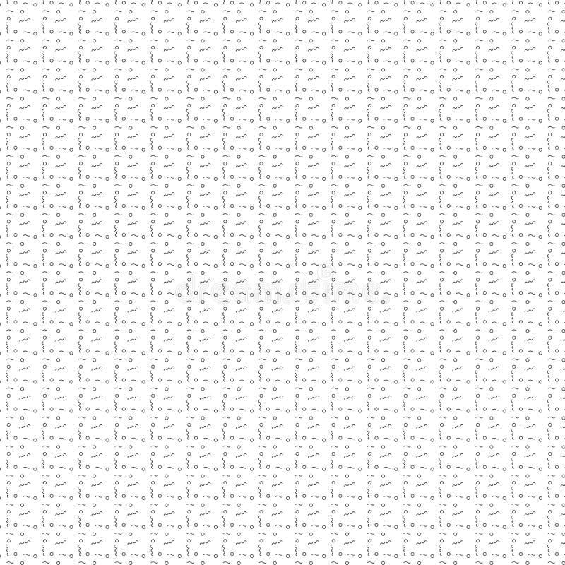Lineare gelockte Linie des Kreises und des Kurzschlusses kopieren Hintergrund vektor abbildung