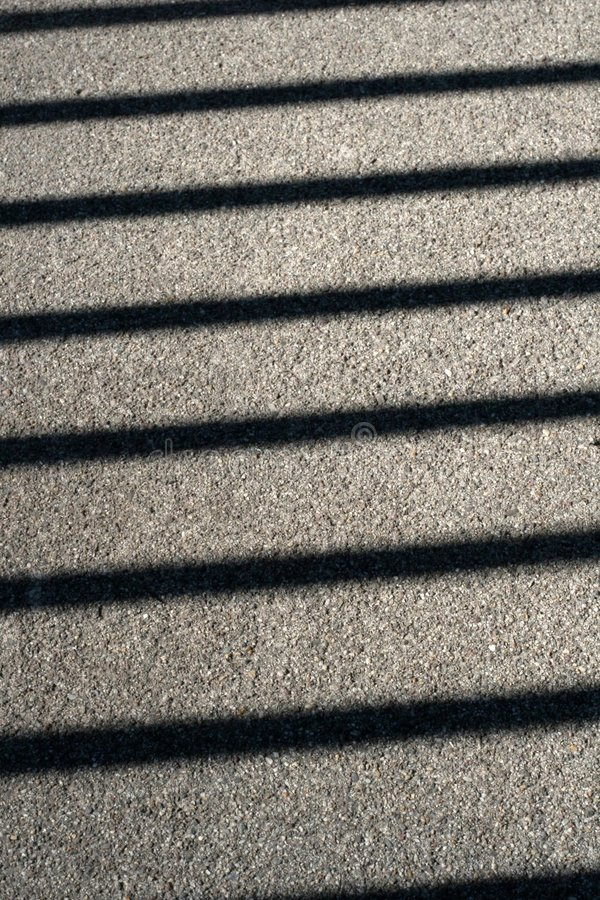 Lineare Schatten. stockfotografie