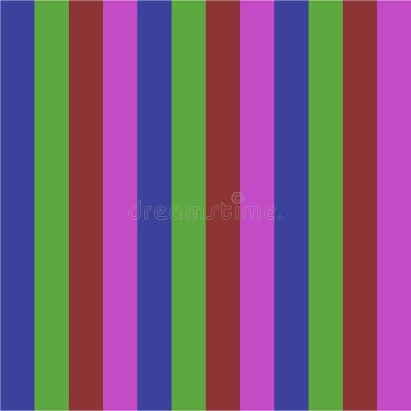 Lineas horizontales paralelas simples ejemplo moderno del fondo geométrico vibrante del arco iris del extracto del modelo para el ilustración del vector
