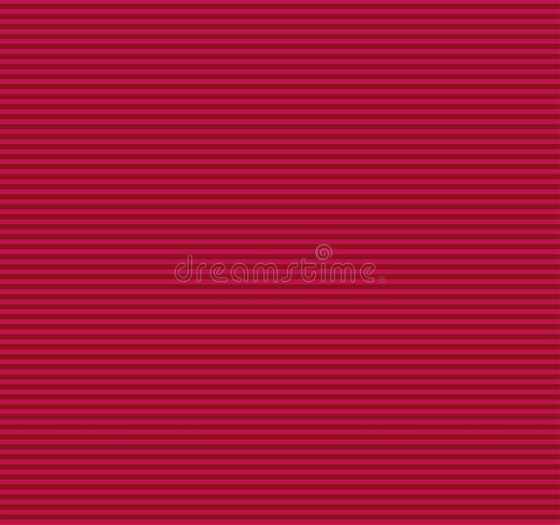 Lineas horizontales rojas, fondo inconsútil del modelo de las rayas imágenes de archivo libres de regalías