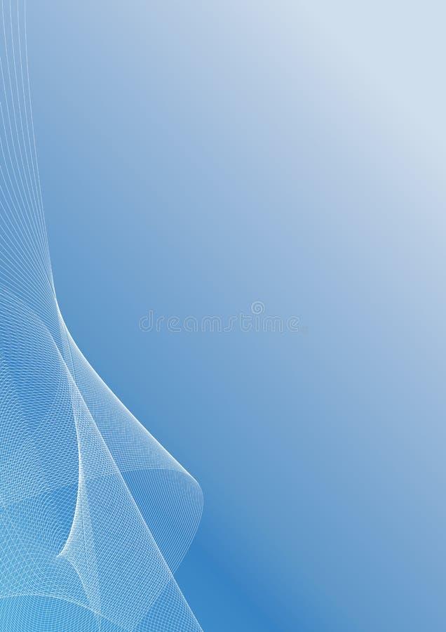 Lined artwork background vector illustration