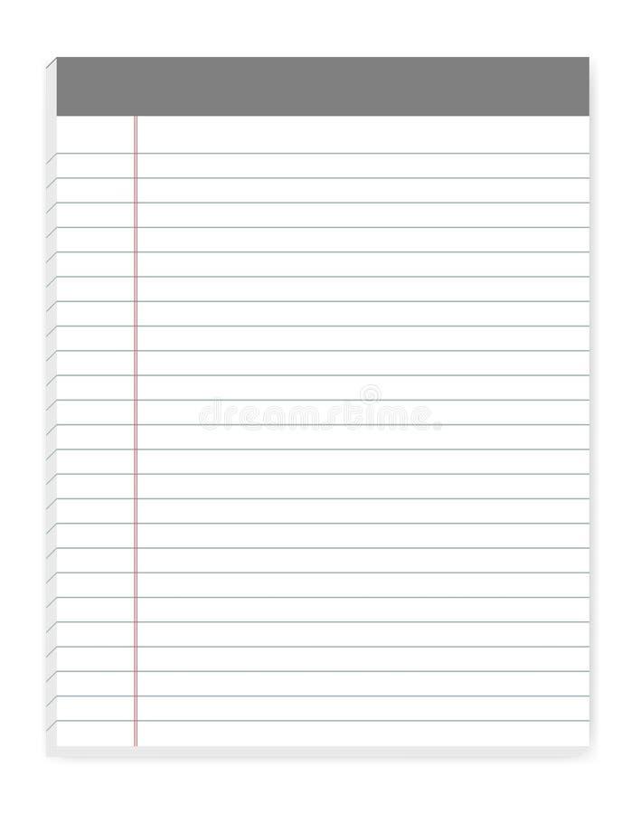 Lined letter format writing pads with margin vector mock up stock download lined letter format writing pads with margin vector mock up stock vector illustration spiritdancerdesigns Gallery