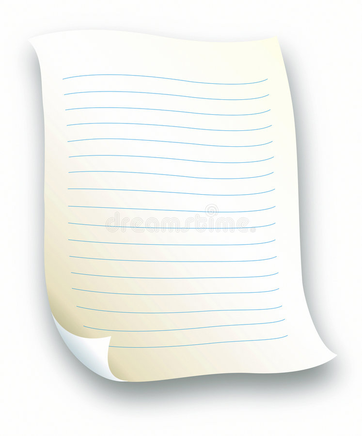 Lined Letter Paper Royalty Free Photography Image 511157 – Lined Letter Paper