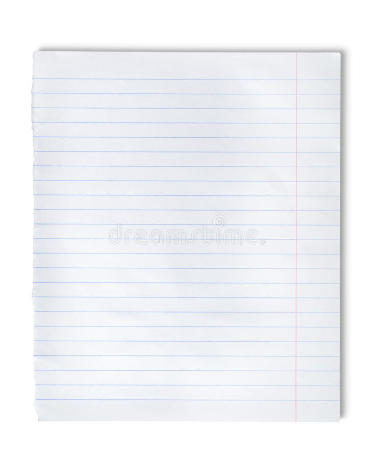 Download Lined paper stock image. Image of sheet, space, reminder - 24374751