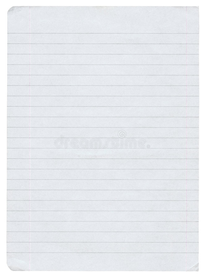 Free Lined Paper Royalty Free Stock Photos - 3163558