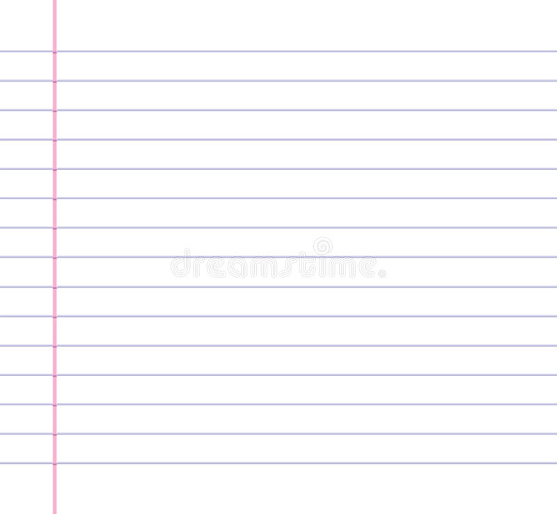 Lined Or Ruled Paper Background Stock Vector - Illustration of lines ...