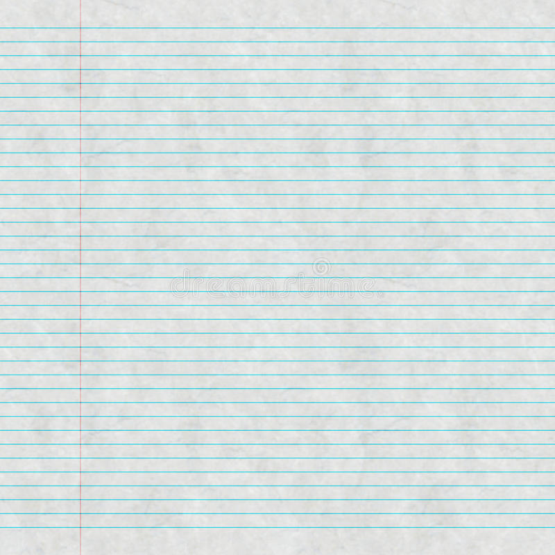 Download Lined writing pad stock illustration. Image of blanco - 33636168