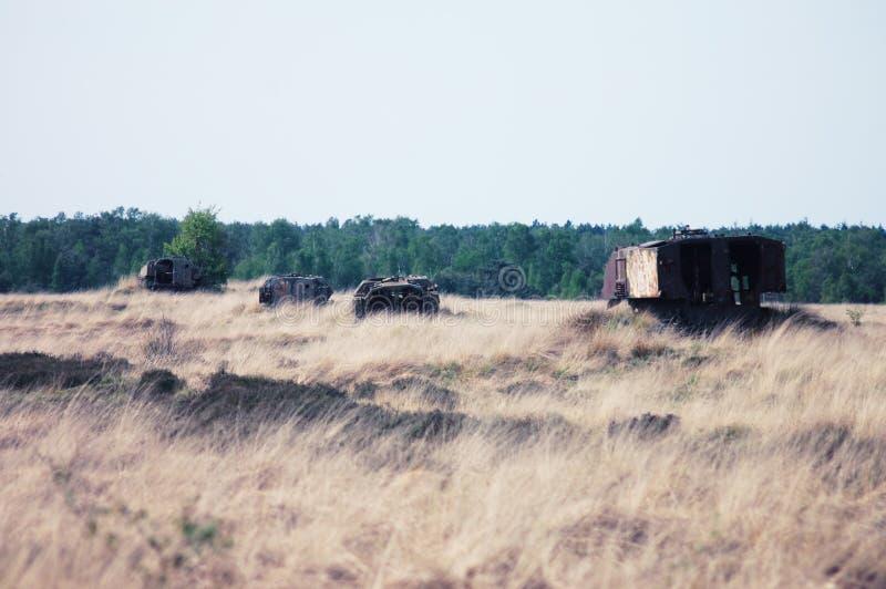 Linedup Tanks stock photos