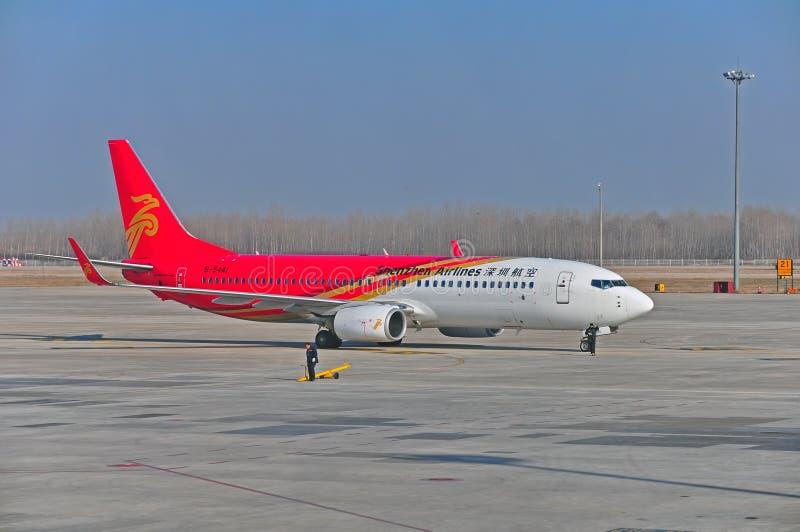 Linee aeree di Shenzhen fotografia stock