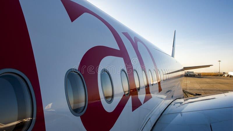 Linee aeree etiopiche fotografie stock libere da diritti