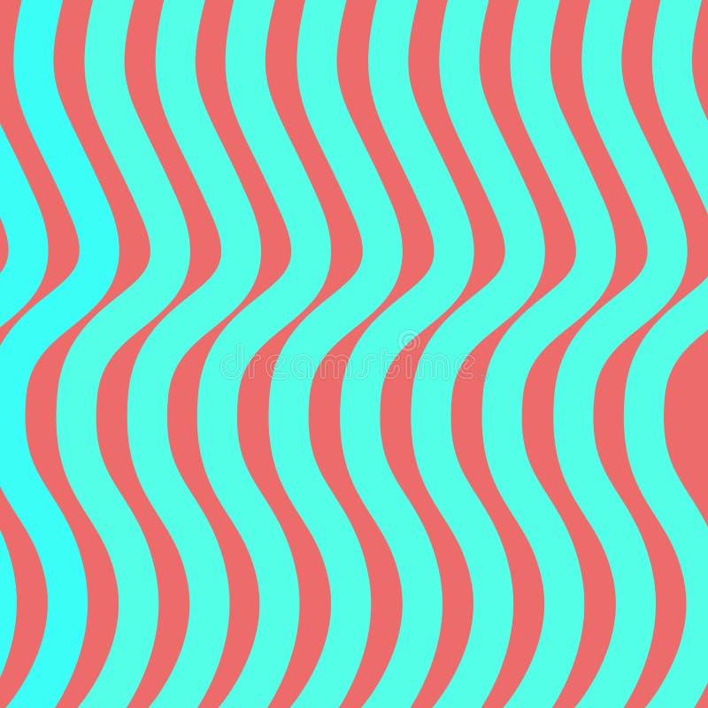 Linee blu di Wave fotografie stock
