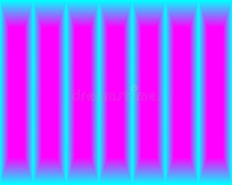 Linee blu luminose al neon del fondo dell'estratto royalty illustrazione gratis