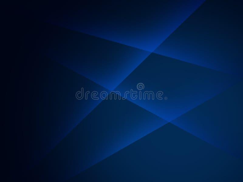 Linee brillanti fondo della diagonale blu scuro astratta royalty illustrazione gratis