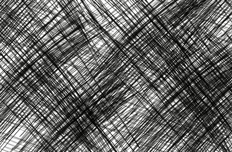 Linee di colore astratte fotografia stock libera da diritti