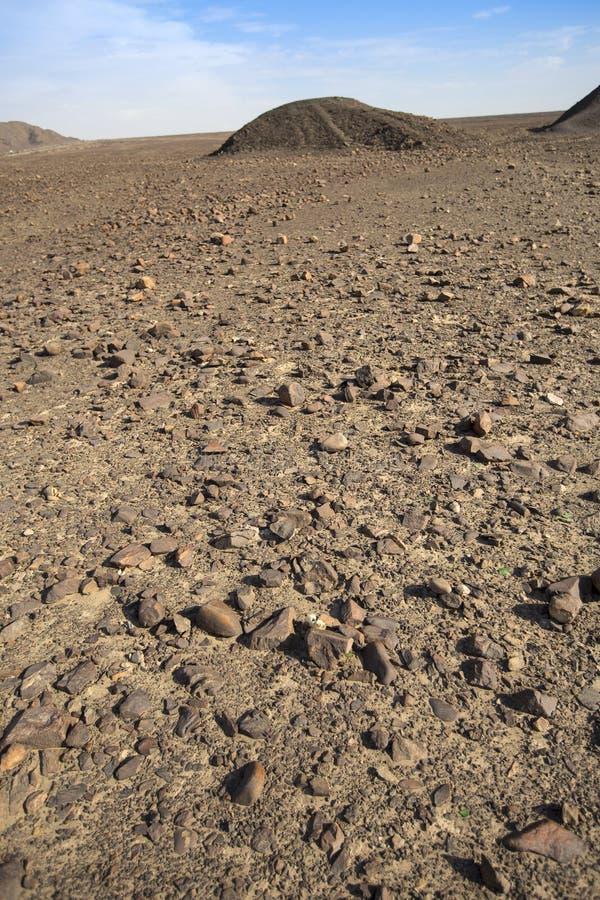 Linee di Nazca nel bello tramonto immagini stock