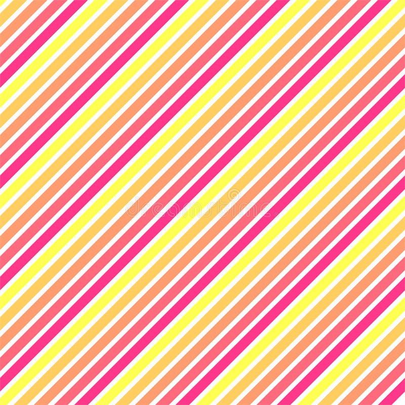 Linee diagonali modello di pendenza illustrazione di stock