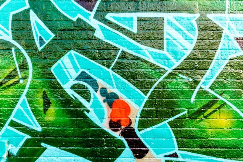 Linee e colori dei graffiti immagine stock