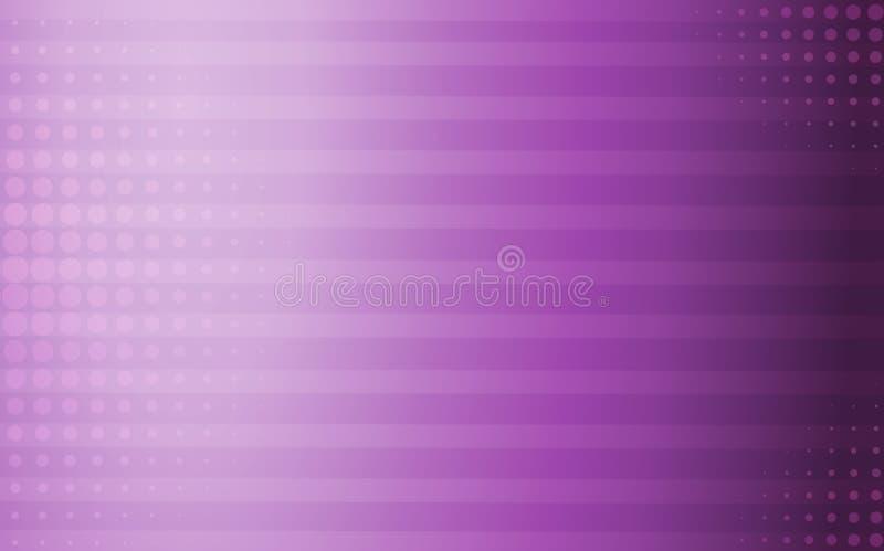 Linee e punti geometrici porpora del fondo royalty illustrazione gratis