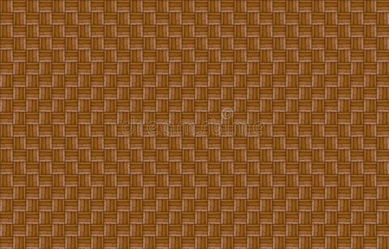 Linee geometriche fondo del modello di effetto di legno dell'onda di eco della superficie di buio royalty illustrazione gratis