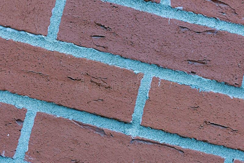 Linee inclinate modello urbano astratto modello di superficie stagionato dei blocchetti dei mattoni di lerciume del fondo di prog immagini stock