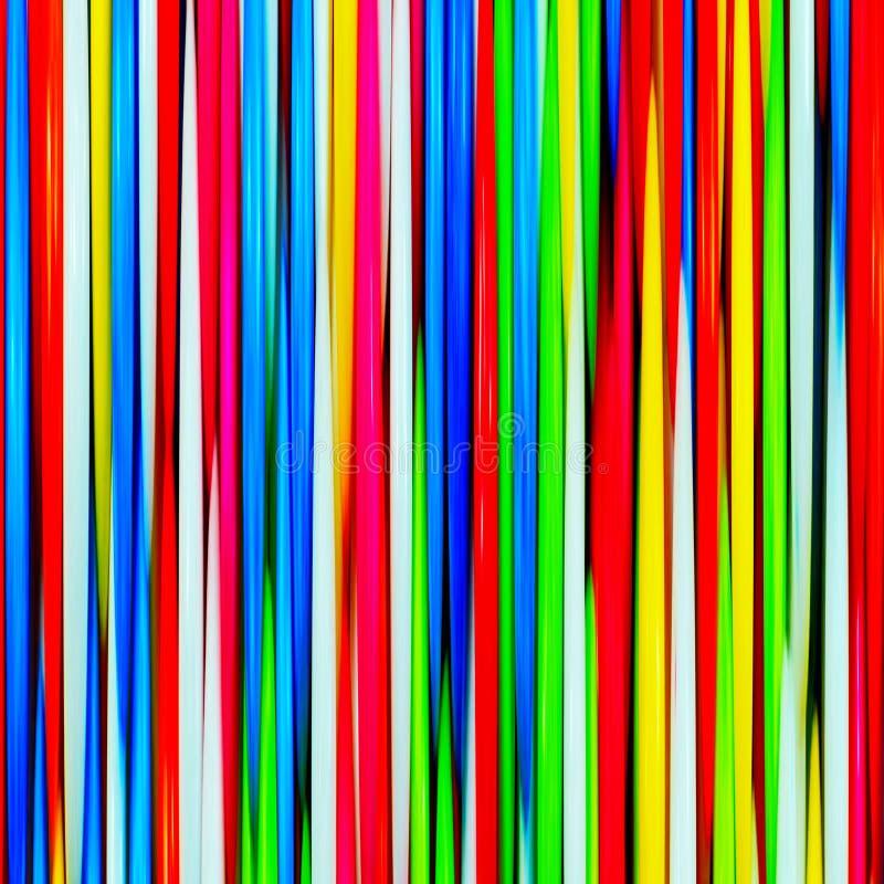 Linee multicolori immagine stock libera da diritti
