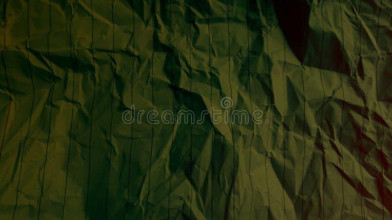 Linee sgualcite fondo delle bande di effetti di colori della miscela di colore di marrone della noce della carta multi immagini stock