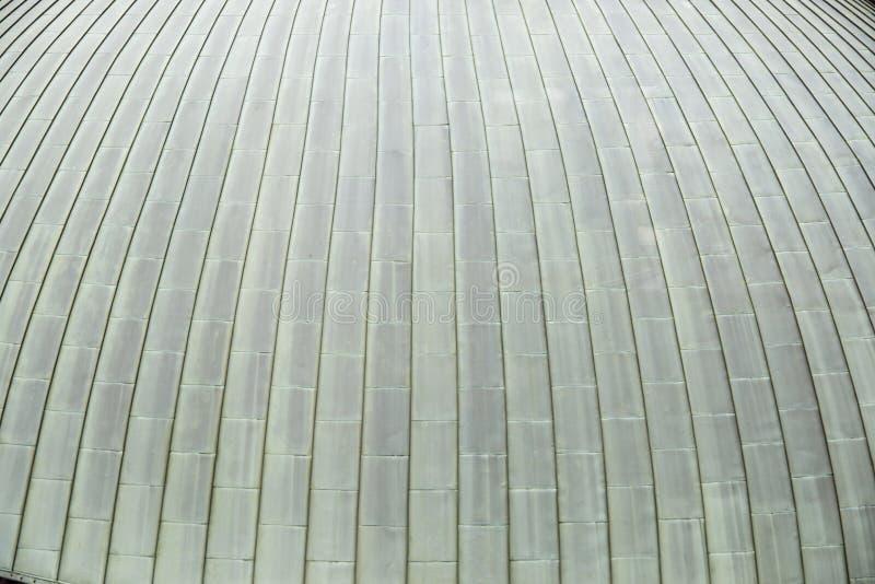 Linee sul lato esterno di un edificio immagine stock