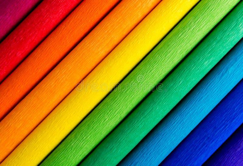 Linee variopinte del fondo dell'arcobaleno immagini stock