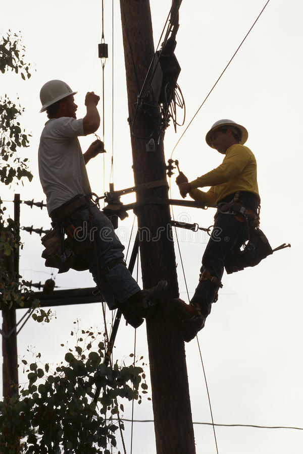Download Linemen editorial image. Image of cable, connection, utility - 23161990