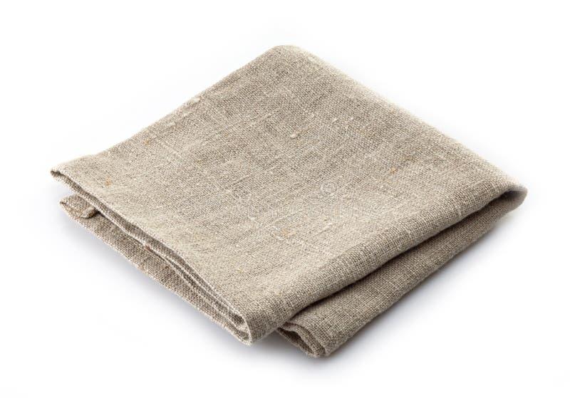 Linen салфетка стоковая фотография