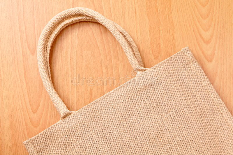 Linen Bag Stock Photo