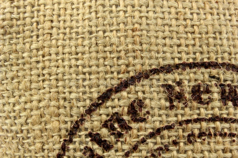 Download Linen burlap texture stock image. Image of ecological - 25248625