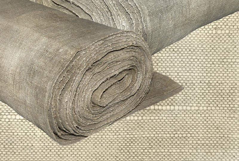 Linen fabric royalty free stock photography