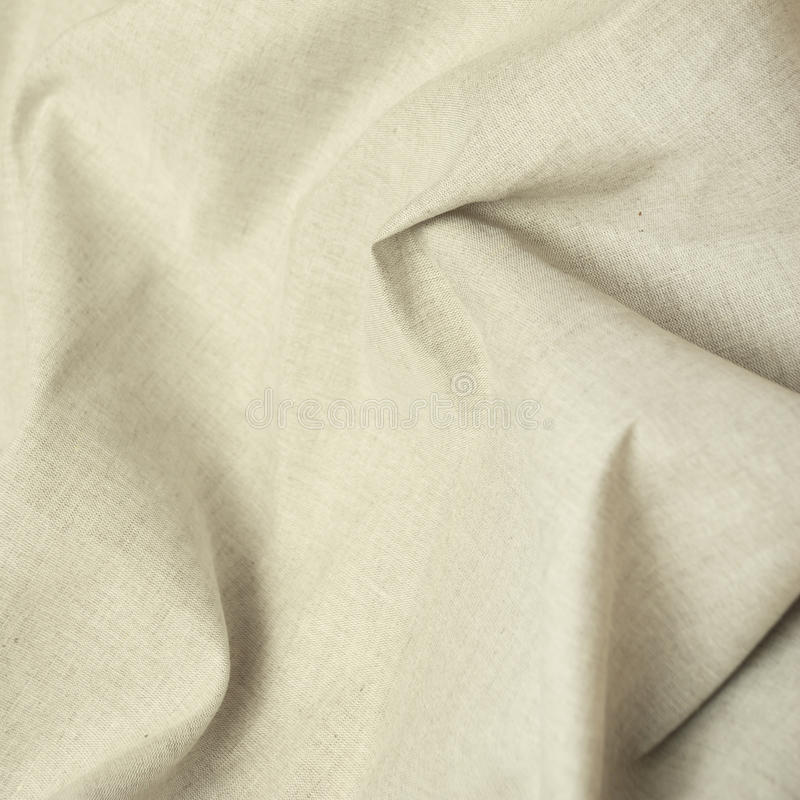 Linen fabric. Background from mint of a linen fabric royalty free stock photography