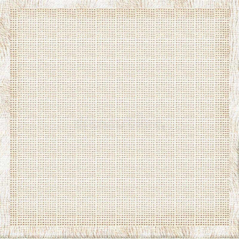 Linen fabric background stock image