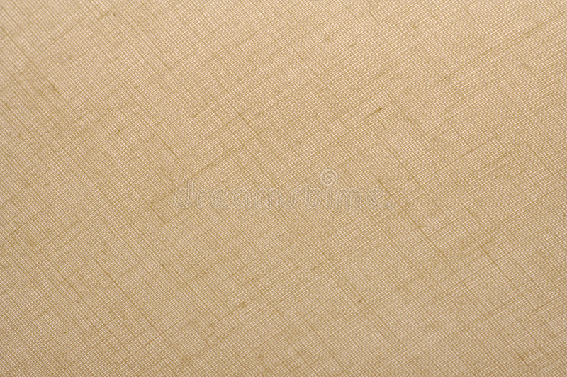 Linen Fabric Background. Textured Natural Tan Linen Fabric Background royalty free stock photography