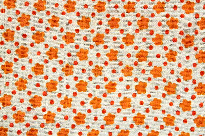Download Linen Fabric With A Pattern Stock Photo - Image: 15569376