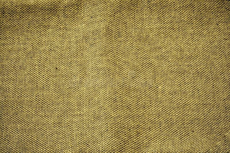 Linen fabric surface for mock-up or designer use, swatch, book cover sample.  royalty free stock image