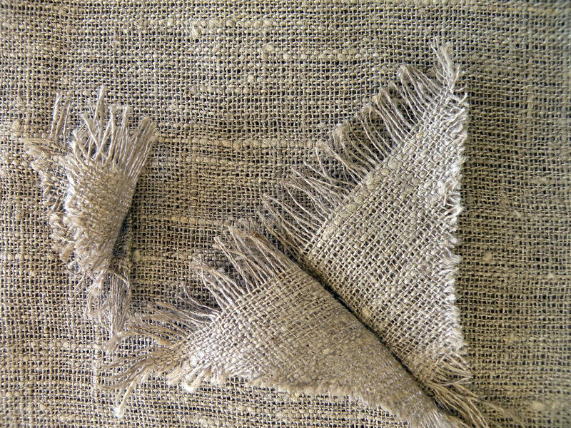 Linen fabric texture stock images